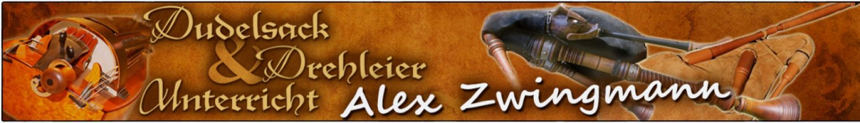 Dudelsack- und Drehleier-Unterricht Alex Zwingmann